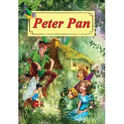 Peter Pan carte ilustrata editia 2017