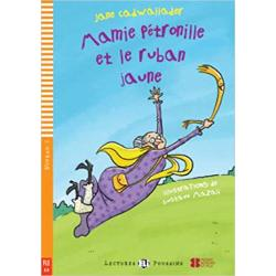 Grand-Ma Petronille and the Yellow Ribbon Book  CD - Level 1 - 100 Words Aurelie always misplaces her things and that makes her teacher very upset Grand-Ma Petronille gives Aurelie a yellow ribbon and tells her that it can solve all her problemscan it really Themes  School - Magic - Adventure Also includes Games and activities - A recording of the story and the song - Illustrated vocabulary Vocabulary themes School - Friends and Family - The House Grammar content The present