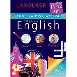 Cartea este conceputa de specialistii Larousse pentru copiii de 11-12 ani care studiaza limba englezaContine exercitii progresive jocuri didactice medalioane culturale· Recapitularea unor notiuni gramaticale esentiale· Exercitii adaptate in vederea aplicarii cunostintelor · Jocuri