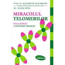 V-ati intrebat vreodata de ce unele persoane de saizeci de ani arata si se simt ca unele de patruzeci si vice-versa Pe langa ceilalti factori cunoscuti care afecteaza imbatranirea si imbolnavirea dr Elizabeth Blackburn a descoperit telomeraza enzima care hraneste si intregeste telomerii protectorii mostenirii noastre genetice Lungimea si sanatatea telomerilor sunt esentiale pentru sanatatea si longevitatea organismului uman Cartea ne arata