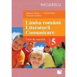 Limba romana Literatura Comunicare Caiet de exercitii pentru clasa a V a