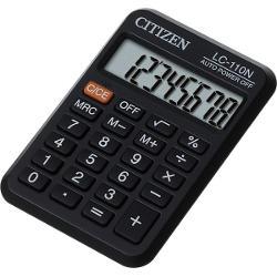 Mini calculator de birou cu carcasa compact potrivit pentru orice birouCaracteristici8 digitiDisplay LCD platAlimentare bateriebr