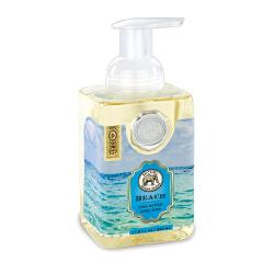 MDW Sapun lichid Beach FOA189Sapun lichid spumaSapunul contine aloe vera si este imbogatit cu unt de sheaCatifeleaza si hidrateaza pieleaAroma spa-briza mariiGramaj530 ml