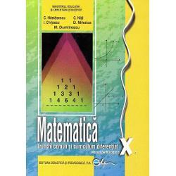 Manual de matematica clasa a X a TCCD editia 2017