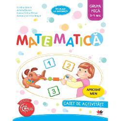 Matematica Caiet de activitati Grupa mica 3-4 ani