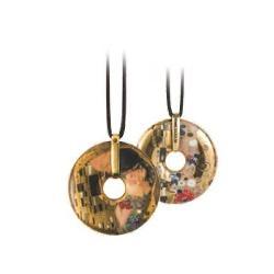 Pandantiv cu snur Klimt-Kiss-5 /58cm 66989575