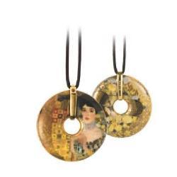 Pandantiv cu snur Klimt-Adele-5 /58cm 66989583 imagine librarie clb