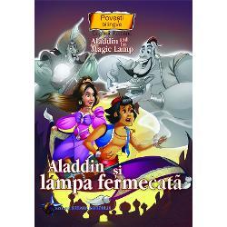 Aladin si lampa fermecata Povesti bilingve engleza-romana