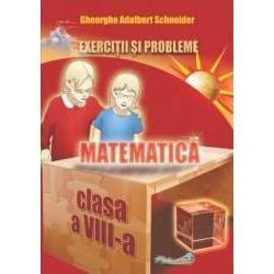 Matematica exercitii si probleme clasa a VIII-a