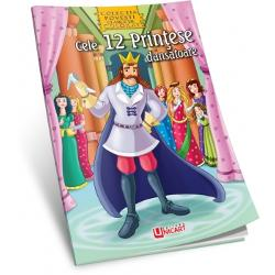 Cele 12 printese dansatoare Carte de coloratCategorie VarstaPrescolariTip CopertaCoperta NormalaNumar Pagini28AutorMacaw Book
