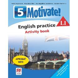 Motivate English practice Activity book L 1 clasa a V-a