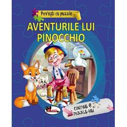 Dragi copii vreti s&259; cititi despre întâmpl&259;rile nemaipomenite prin care a trecut vestita p&259;pus&259; Pinocchio Vreti s&259; îl ajutati s&259; devin&259; un b&259;ietel adev&259;rat Iat&259; editura Aramis v&259; ofer&259; aceast&259; minunat&259; carte în paginile c&259;reia v&259; veti întâlni cu multe personaje fantastice si veti tr&259;i si voi aventurile lor Le veti îndr&259;gi le veti deslusi tâlcul si