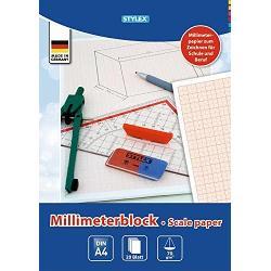 Hartie Milimetrica A4 Stylex 20F 29330Contine 20 file
