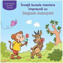 Benjamin este un pui de maimuta nostim dar prost-crescut El scuipa se stramba nu-si duce mana la gura cand casca arunca gunoaie pe jos si ii imbranceste pe altii fara sa se scuze Asa ca Paula Girafa hotaraste sa-l invete cum sa se poarte O scurta lectie de bune maniere care se va dovedi foarte atractivadiv
