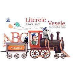 Un alfabet in versuri insotit de ilustratii colorate si amuzante ce prezinta personaje reprezentative fiecarei litere E-elefantG- girafa gasca I- inorogiepure  Fragment  span stylecolorrgb0 0 0; font-familyopen
