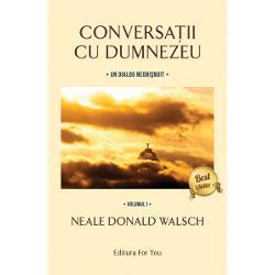 """Conversa&539;ii cu Dumnezeu volumele I-III edi&539;ie revizuit&259;Volumul1""""Profetul"""" Walsch nu pretinde c&259; e Mesia unei noi religii ci doar un om nemul&539;umit care s-a a&537;ezat într-o zi cu stiloul în mân&259; &537;i cu câteva întreb&259;ri dure în inim&259; Când î&537;i scria întreb&259;rile"""