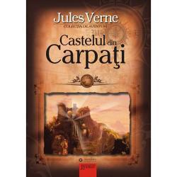 Castelul din CarpatiActiunea romanului se petrece undeva in Transilvania pe langa satul Werst unde se inalta Castelul din Carpati parasit dupa plecarea ultimului sau stapan baronul Radu de Gorj Intr-o zi semne de viata se vad dinspre castel o dara de fum In plus o voce misterioasa se aude la hanul La Regele Matei Tanarul padurar Nicu Deac si doctorul Patak isi inving teama si se indreapta spre castel ca sa vada ce se intampla dar expeditia lor da gres In Werst soseste