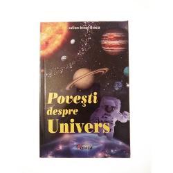 Cartea este o calatorie in timp care urmareste pe scurt si intr-un limbaj accesibil relatarea cosmogoniilor adica a povestilor despre originea Universului apartinand unor mari popoare dar si relatarea celei mai tinere povesti despre Univers cea spusa de stiintadiv