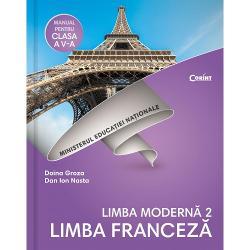 Manual de limba franceza L2 clasa a V a  CD