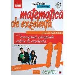 Matematica de excelenta pentru concursuri olimpiade si centre de excelenta  clasa a XI a volumul I algebra