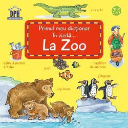 Primele cuvinte pentru cei mici Ce animale putem vedea când mergem la zoo Copiii descoper&259; cele mai cunoscute animale s&259;lbatice &537;i domestice &537;i afl&259; cum sunt hr&259;nite acestea Cei mici înva&539;&259; cuvinte noi &537;i experimenteaz&259; astfel o c&259;l&259;torie imaginar&259; ilustrat&259; detaliat  Specifica&539;ii Pagini 18 cartonate board book M&259;rimi 13 x