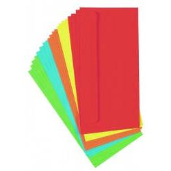 Plic colorat DL Format 110x220mm Ambalaj punga din plastic Produs de Toppoint-Germania
