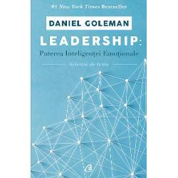 Cartea de fa&355;&259; despre puterea inteligen&355;ei emo&355;ionale &238;n leadership este prima culegere cuprinz&259;toare &238;n care autorul &238;&351;i adun&259; descoperirile cheie &238;n domeniu Acest material adeseori extras din celelalte c&259;r&355;i ale lui Daniel Goleman care &351;i-au demonstrat din plin eficien&355;a e de natur&259; s&259; sprijine dezvoltarea unui management performant &351;i inovatorAm adunat la un loc rezum&226;ndu-le