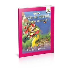 Legenda misteriosului vr&259;jitor care cânta la flaut într-o carte creat&259; special pentru copiii care vor s&259; înve&539;e s&259; citeasc&259; în limba german&259;Cartea se adreseaz&259; cititorilor de nivel mediu care nu st&259;pânesc înc&259; un vocabular bogat Ilustra&539;iile pasate abil deasupra cuvintelor îi ajut&259; se decodifice rapid cuvintele &537;i s&259; le descopere sensul La finalul