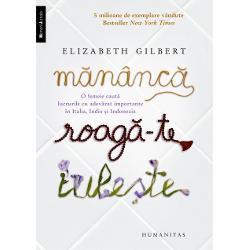 Un fenomen cultural americanBestsellerNew York TimesBestseller al Asocia&539;iei Librarilor AmericaniTraduceri în 30 de limbi10 milioane de exemplare publicate în lumeFilm cu Julia Roberts &537;i Javier BardemLa 30 de ani Elizabeth Gilbert are tot ce-&537;i poate dori o femeie ambi&539;ioas&259; &536;i totu&537;i e