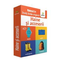 Bingoletto Haine &537;i accesorii reprezint&259; un sistem inedit de a înv&259;&539;a limba englez&259; inspirat de popularul joc de bingo Cu ajutorul acestei metode copilul va înv&259;&539;a cu u&537;urin&539;&259; denumirile unor obiecte vestimentare &537;i accesorii îmbog&259;&539;indu-&537;i astfel vocabularulPachetul con&539;ine• 56 de carduri cu control al pozi&539;iei Fiecare card con&539;ine pe o