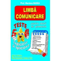 Limba si comunicare Teste clasele VVI