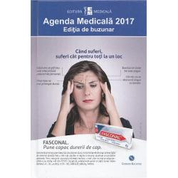 Agenda medicala 2017. Editia de buzunar