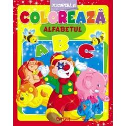 Alfabetul Descopera si coloreaza