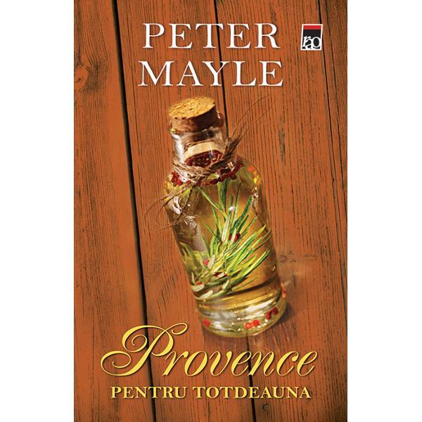 Dup&259; ce a petrecut patru ani în America Peter Mayle se întoarce în Provence &351;i la fericirea cu care acest &355;inut î&351;i cople&351;e&351;te locuitorii fie ei turi&351;ti sau connaisseurs Redescoper&259; cât de mult i-au lipsit obiceiurile locului de la mirosul cimbrului de pe câmp pân&259; la îmbulzeala &351;i agita&355;ia din pie&355;e duminica diminea&355;a dar mai ales buc&259;t&259;ria provencal&259;