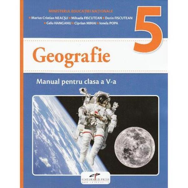 Manual geografie clasa a V a
