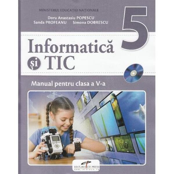 Manual informatica si TIC clasa a V a