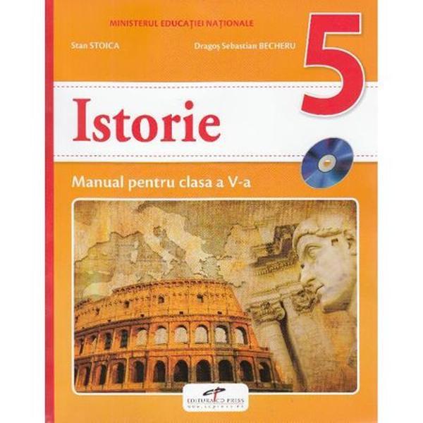 Manual istorie clasa a V a