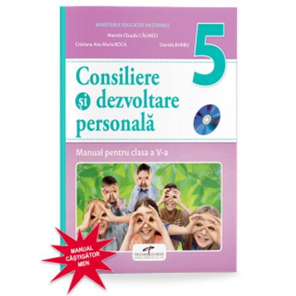 Manual consiliere si dezvoltare personala clasa a V a