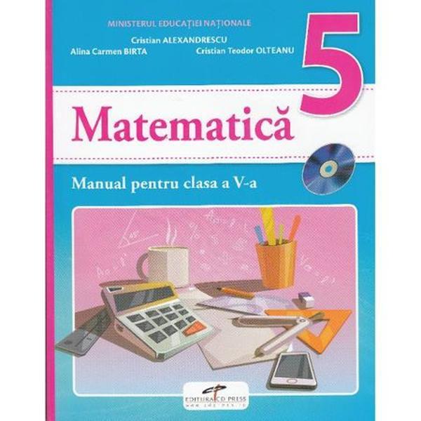 Manual matermatica clasa a V a
