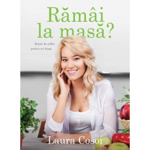 Marele Premiu Gourmand World Cookbook Awards 2014 Best TV Chef Book - EuropeCartea Laurei Cosoi este o invita&355;ie adresat&259; cititorilor de a p&259;trunde &238;n intimitatea buc&259;t&259;riei sale Autoarea ne ofer&259; un jurnal culinar splendid ilustrat unde sunt adunate re&355;ete pe care ea le &238;ndr&259;ge&351;te  feluri de m&226;ncare pe care le prepar&259; adesea spre deliciul familiei &351;i al prietenilor de