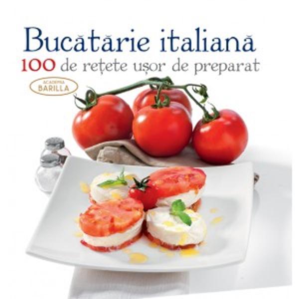 Gastronomia italian&259; este renumit&259; nu doar pentru produsele sale caracteristice paste legume risotto pizza supe crem&259; etc ci mai ales pentru savoarea &537;i rafinamentul preparatelor care folosesc în mare parte numai ingrediente naturale Re&539;etele sunt prezentate de la aperitive trecând prin felul întâi &537;i felul principal pentru a ajunge apoi la salate legume &537;i deserturi