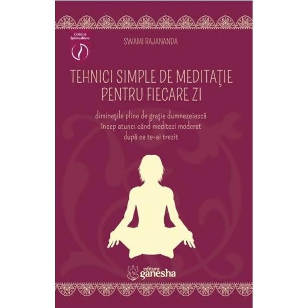 Totul este medita&355;ie dac&259; reflectezi la ceea ce te înconjoar&259; Totul este medita&355;ie dac&259; reflectezi asupra fiin&539;ei taleMedita&355;ia atât cea asupra cuvintelor cât &351;i celelalte genuri de medita&355;ie trece prin sim&355;uri &351;i sim&539;iri prin sentimente &537;i resentimente prin esen&355;a vie&355;ii prin esen&355;a ra&355;iunii de a fi Medita&355;ia este via&355;a sim&355;it&259;