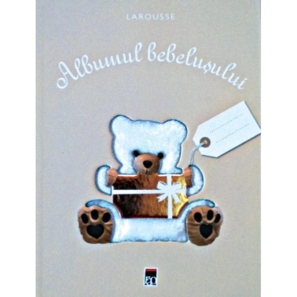 Un extraordinar volum de cump&259;rat sau de oferit în dar cu ocaziana&351;terii unui copil O carte-album pentru notarea primelor impresii &351;ip&259;strarea primelor fotografii ale copilului