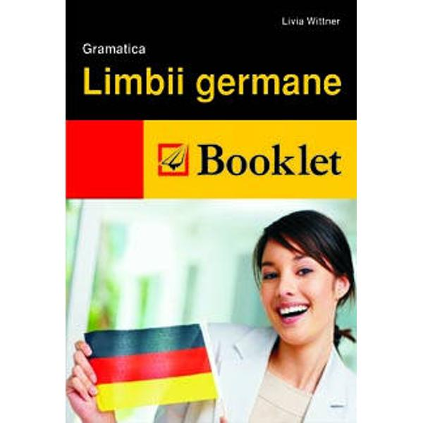 Gramatica limbii germane si ghidul de conversatie ajuta cititorul sa foloseasca limba in viata cotidiana si sa inteleaga contextele sintactice si de vocabular in conversatii libere si in scris