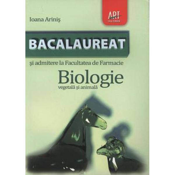 Biologie IXX pentru bacalaureat vegetala