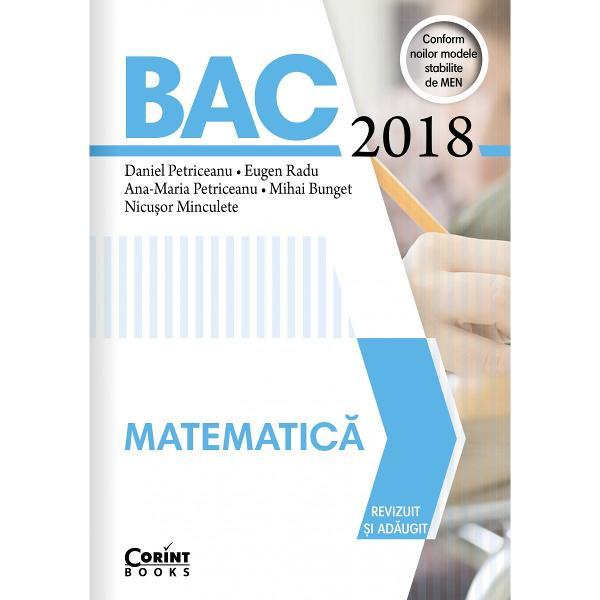 Bac 2018 Matematica