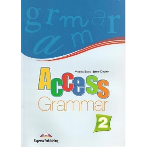 Material de gramatic&259; nivel elementary clasa a VI-a care poate fi folosit împreun&259; cu celelalte componente ale cursuluiAccess 2 împreun&259; cu alte cursuri sau individual    Activit&259;&355;ile sunt atractive &351;i variate dialoguri alegeri multiple joc de rol completarea spa&355;iilor punctate formularea de întreb&259;ri sau r&259;spunsuri