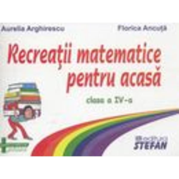 Recreatii matematice pentru clasa a IV-a