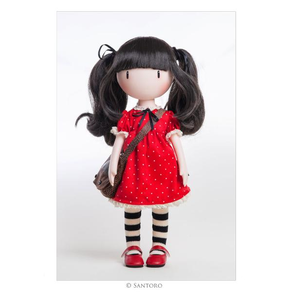 Each doll is specially lovingly dressed in beautifully stitched clothes made from fine quality materials  This lovely doll is an exquisite 3D recreation of the original Ruby artwork complete with lifelike flowing hair delicate hands intoed stance and striped tights Includes hair bows colourful lace-edged dress delicate petticoat striped tights bright red Mary Janes and