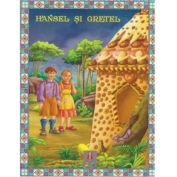 Cartea Hansel si Gretel isi propune sa ii insoteasca pe copii in primele lor lecturi Este redactata cu litere mari de tipar si are ilustratii frumoase si bogat colorate spre a le usura copiilor lectura Textul este adaptat si repovestit de Alexandru Huzum dupa Hansel si Gretel de Fratii Grimm